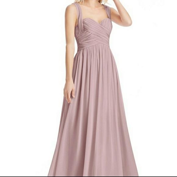 Azazie Dresses & Skirts - Azazie Dusty rose dress